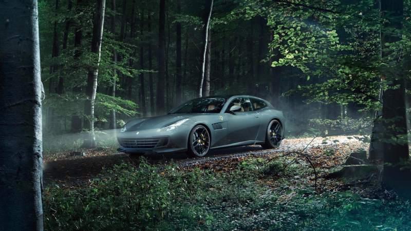 Novitec Ferrari GTC4Lusso T Front 3/4 Woods