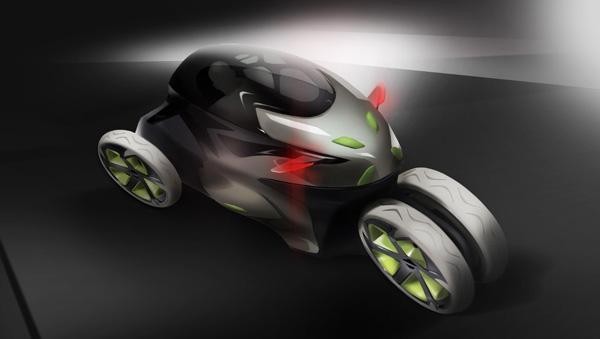 Electric Concept Cars - Paraton-e Render