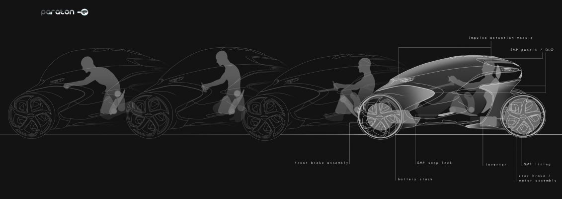 Electric Concept Cars - Paraton-e Transformation Spec Sheet