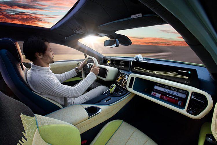 Electric Concept Cars - Rinspeed Ʃtos Interior