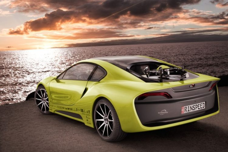 Electric Concept Cars - Rinspeed Ʃtos Rear 3/4