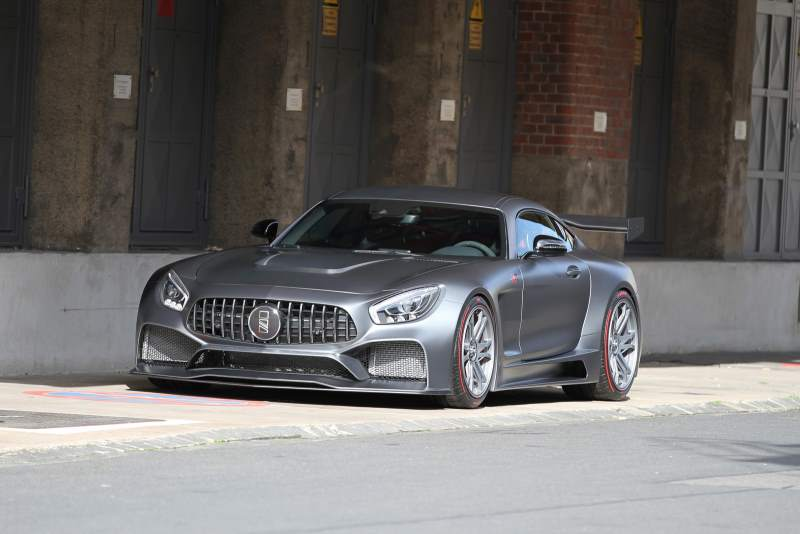 RXR One Super Gran Turismo AMG GT Front