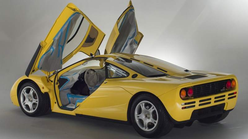 Brand-New McLaren F1 For Sale With Only 149 miles On The Clock