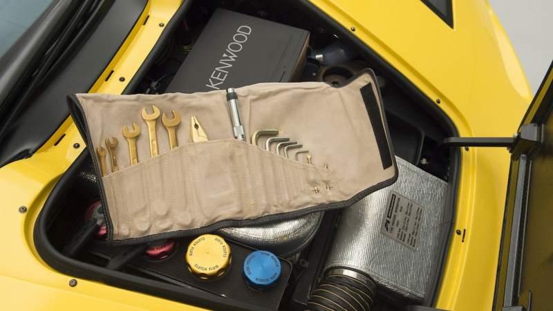 McLaren F1 for sale tool kit