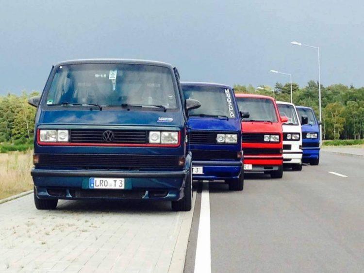 1989 Volkswagen T3 Lineup