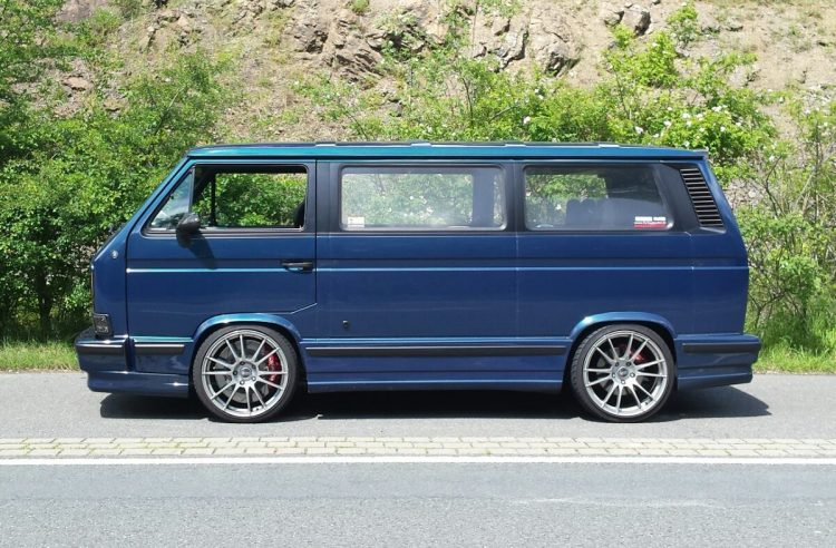1989 Volkswagen T3 Profile