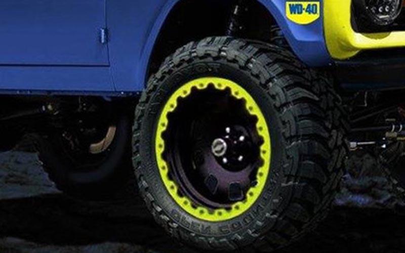 1966 ford bronco wheel