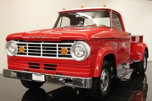 Our history of the Dodge dually includes the 1966 D-series Dodge dually.