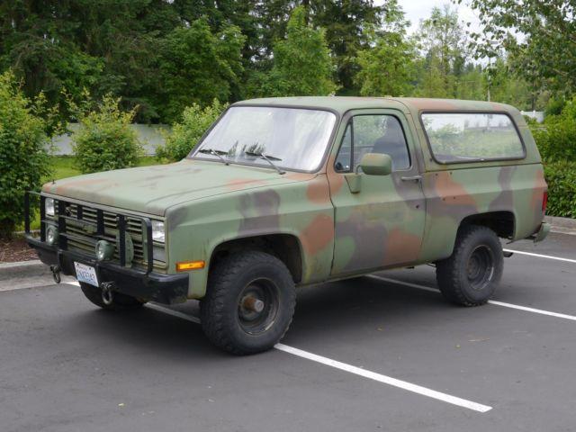 General MotorsM1009 Blazer