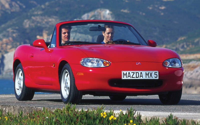 first cars Mazda MX-5 Miata