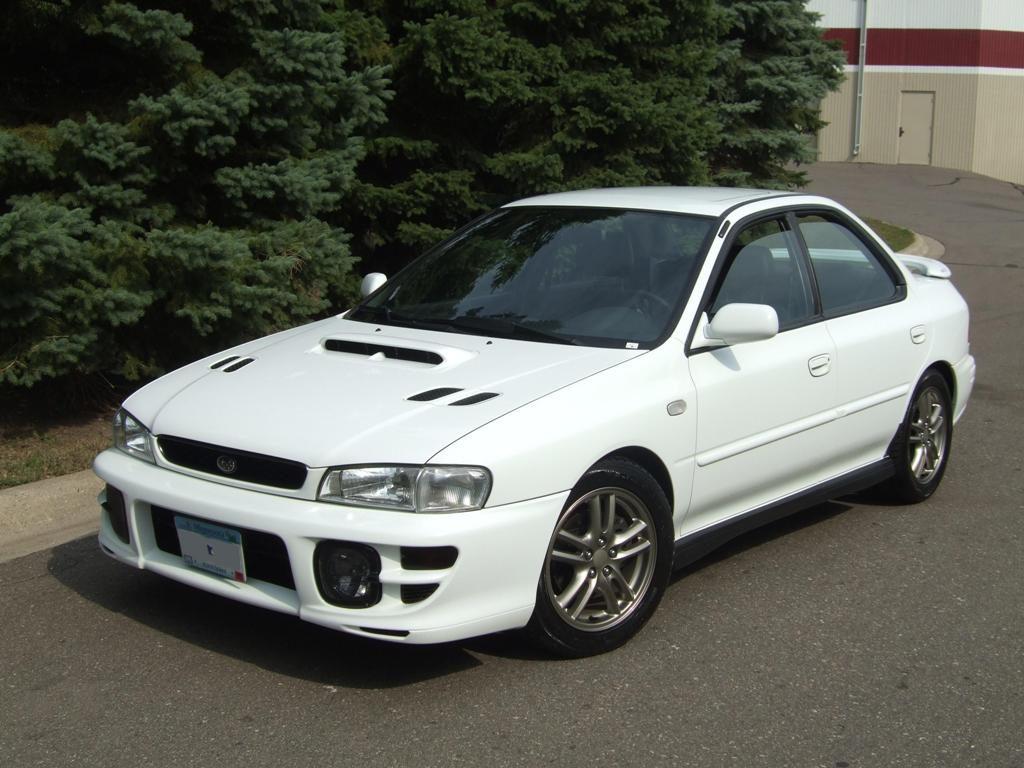 first cars Subaru Impreza 2.5RS
