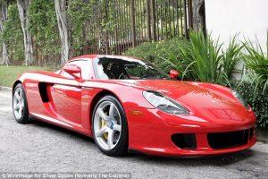 Porsche that Killed Paul Walker