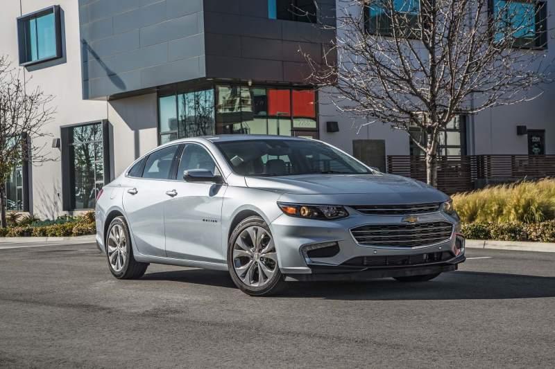 10 Best Selling Sedans of 2017 - Chevrolet Malibu