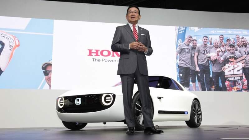 Honda Sports EV Concept Press Release