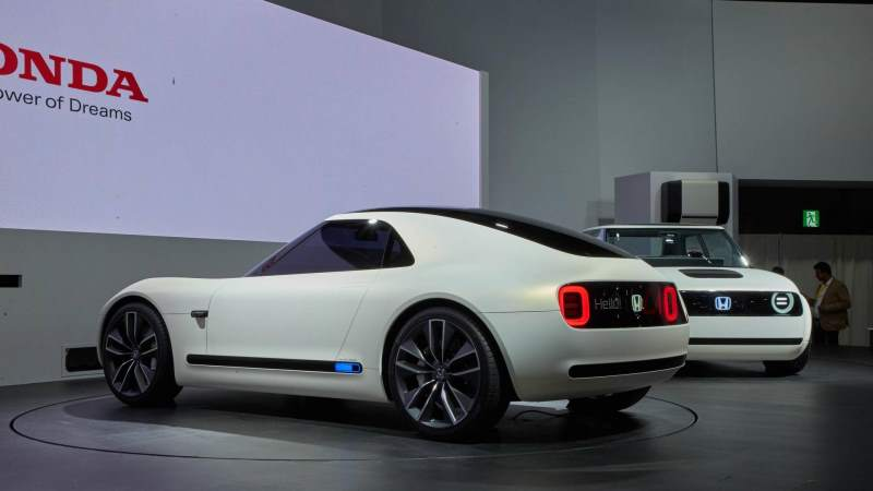 Honda Sports EV Concept Rear 3/4