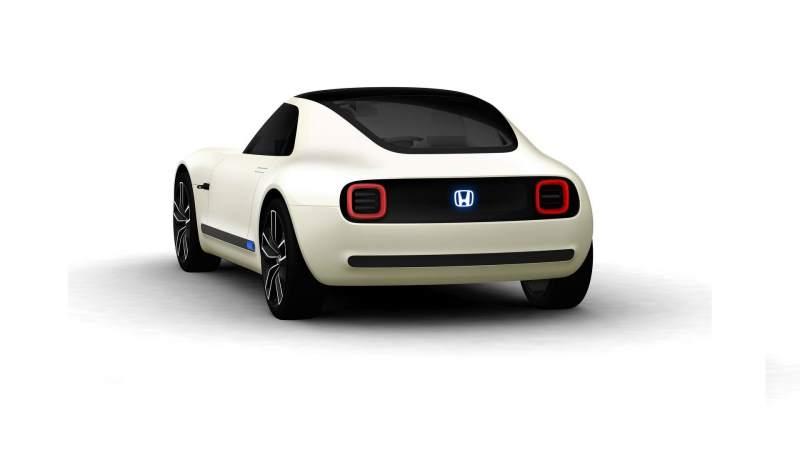 Honda Sports EV Concept Rear 3/4 2