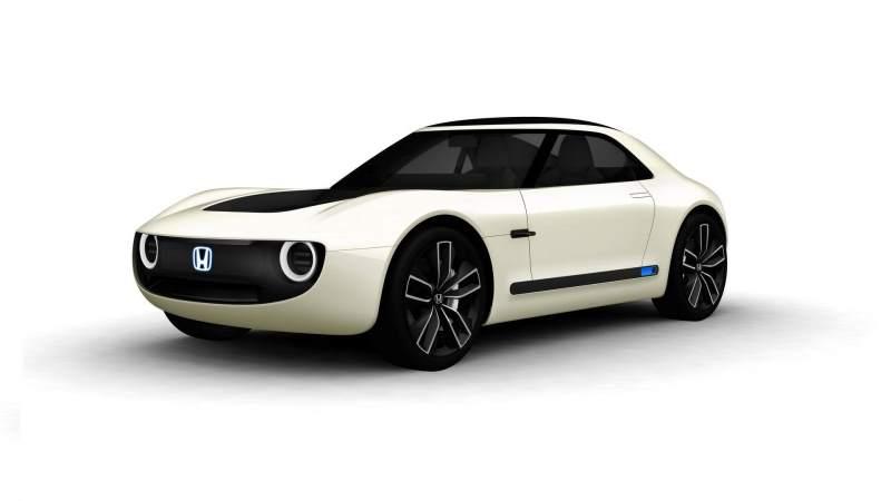 Honda Sports EV Concept Front 3/4 3