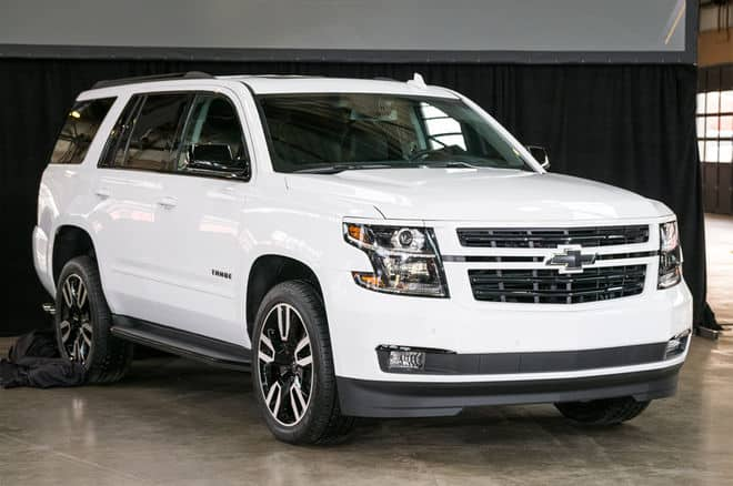 The Chevrolet Tahoe is a great Chevy SUV.
