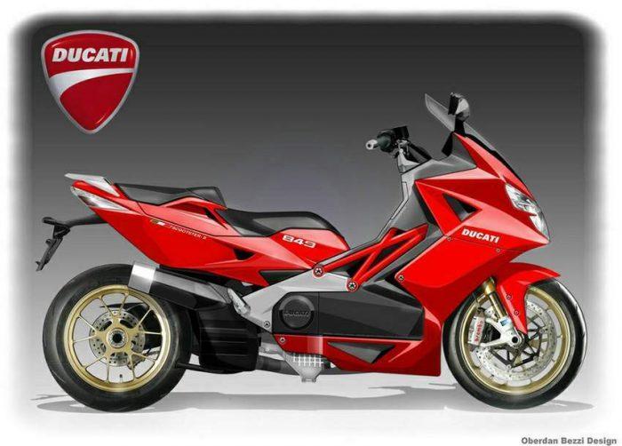Ducati Scooter Concept - Oberdan Bezzi
