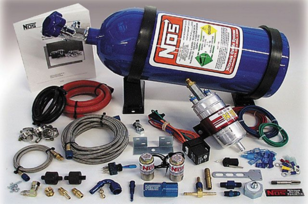 A NOS kit will add power to an LS1 engine.