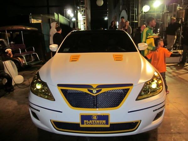 Ron Artest's 2010 Hyundai Genesis