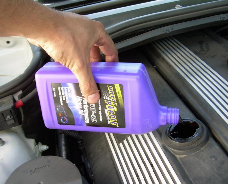 Synthetic oil adds hp to an LS1 engine