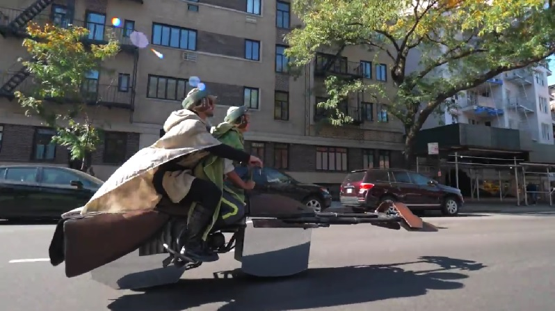 Star Wars Speeder Bike Motorcycle - Lithium Cycles 2