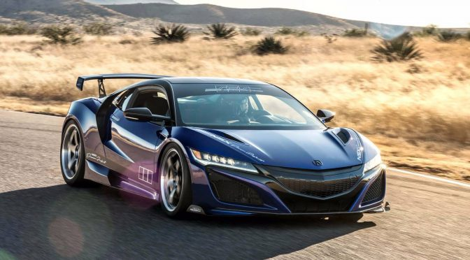 ScienceofSpeed Acura NSX Front 3/4