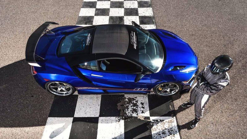 ScienceofSpeed Acura NSX Aerial Profile