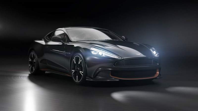 Aston Martin Vanquish S Ultimate Front 3/4