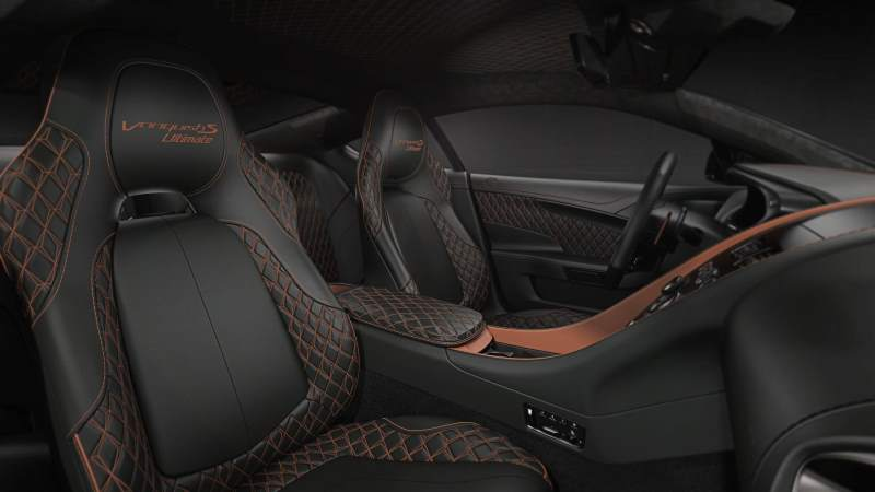 Aston Martin Vanquish S Ultimate Interior