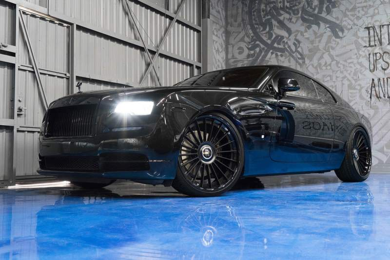 Rolls-Royce Wraith Front 3/4 Low