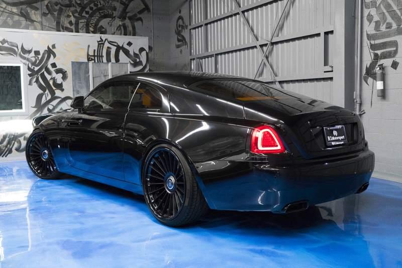 Rolls-Royce Wraith Rear 3/4