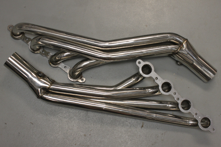 Add headers to an LS1 engine for added performance.