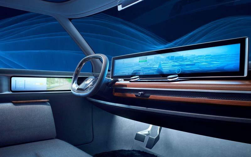 Honda Urban EV Concept Interior