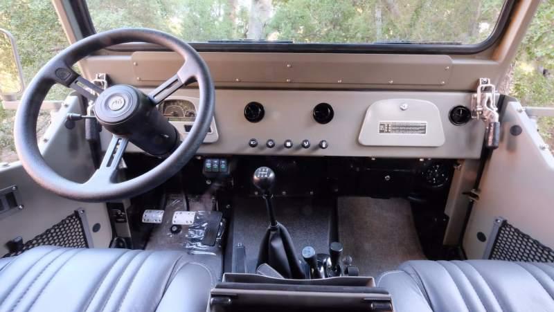 Icon Toyota FJ40 Interior 2