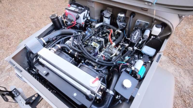 Icon Toyota FJ40 Engine