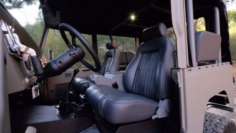 Icon Toyota FJ40 Cockpit