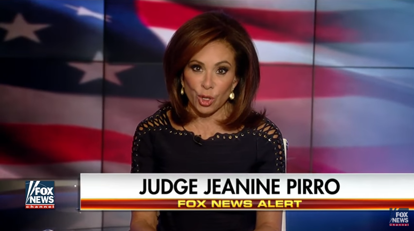 Fox News' Judge Jeanine Pirro