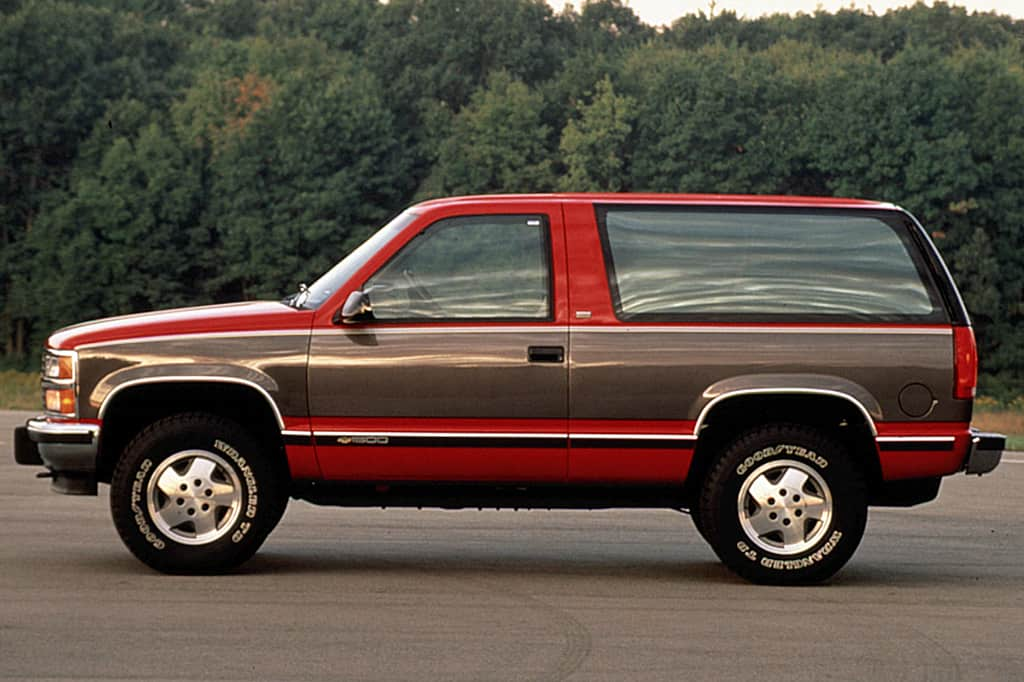 A great older Chevy SUV is the K5 Blazer.