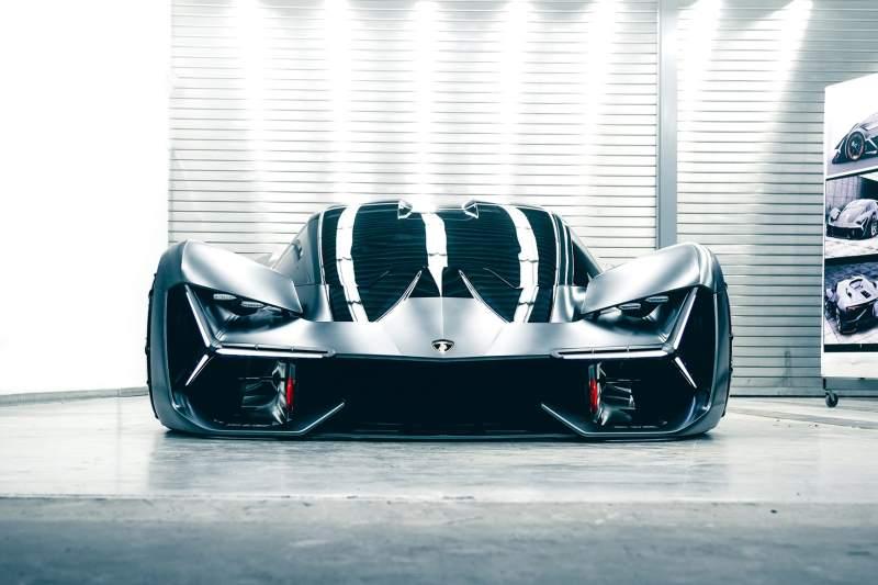 Lamborghini Terzo Millennio Concept Front Low