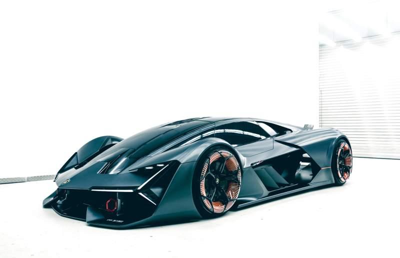 Lamborghini Terzo Millennio Concept Front 3/4
