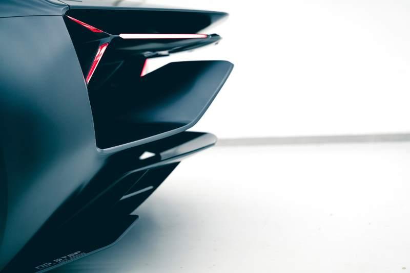 Lamborghini Terzo Millennio Concept Rear Splitter