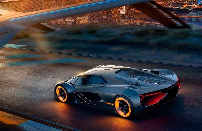 Lamborghini Terzo Millennio Concept Render