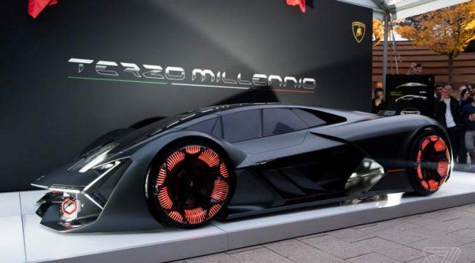 Self Healing Lamborghini Terzo Millennio Concept Is A Sci Fi Dream