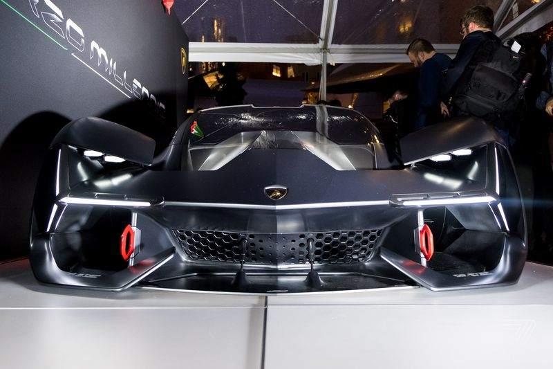 Lamborghini Terzo Millennio Concept Front