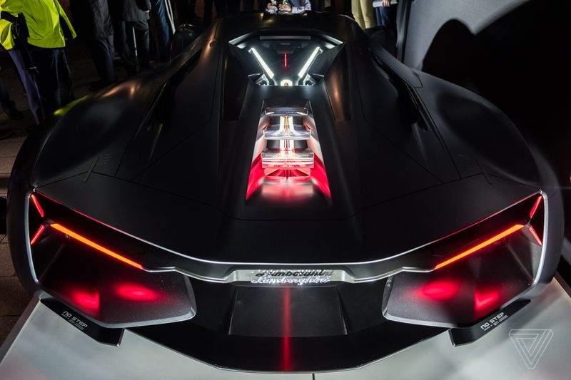 Lamborghini Terzo Millennio Concept Rear