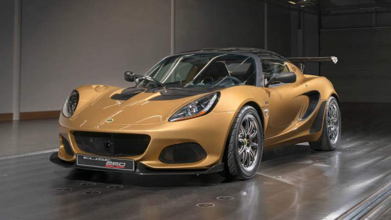 Lotus Elise Cup 260 Front 3/4