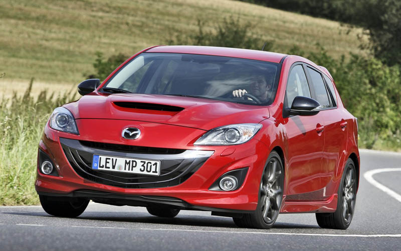 sleeper cars Mazda Mazdaspeed3