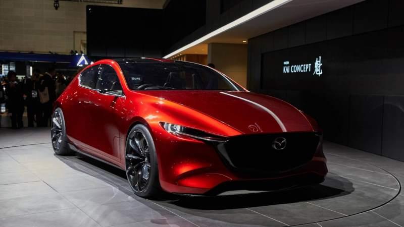 Mazda Kai Concept Front 3/4 2